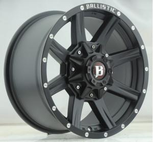 Jante Ballistic Offroad 956 Black 9x17 (6x139.7 ET: +12)