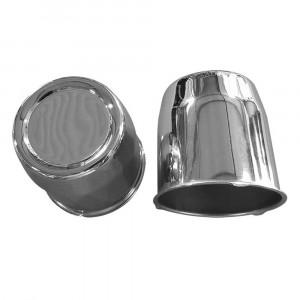 Cache moyeu standard chromé diamètre 80mm