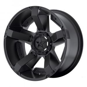 Jante KMC Wheels XD 811 RockStar 2 Noire satinée (Satin black) 9x17 (5x127 ET:-12)