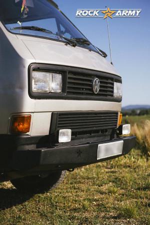 Pare chocs avant acier (modèle DD) de marque Rock Army pour Volkswagen T3