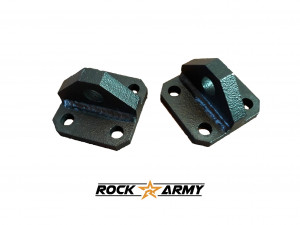 Kit de 2 supports pour manilles pour pare chocs Rock Army